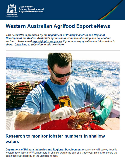 WA Agrifood Export eNews